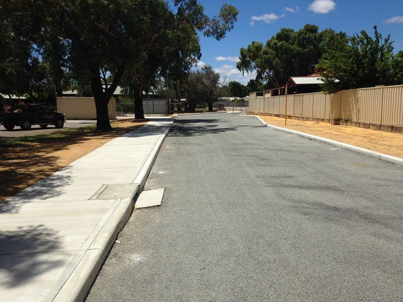 East Kenwick road work