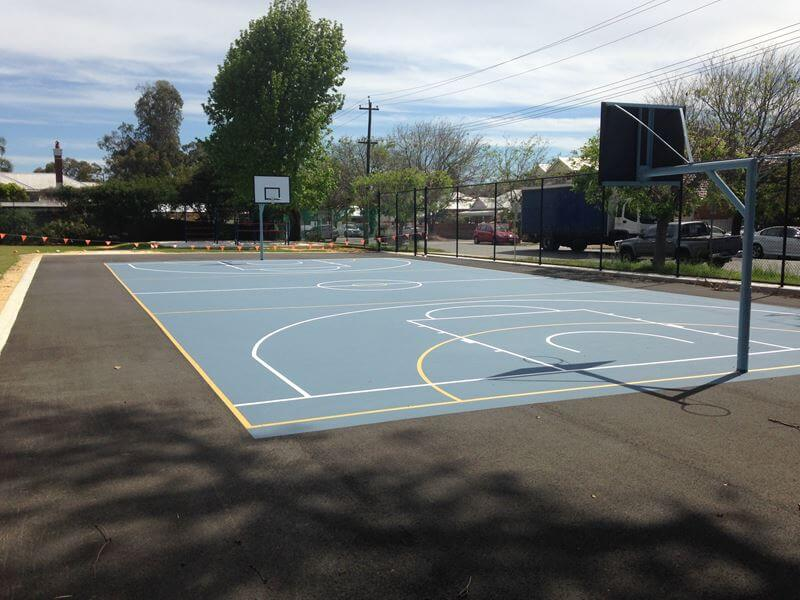 sport court paved
