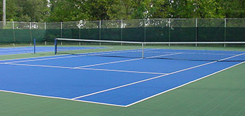 tennis court paved 2